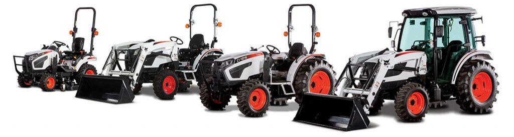 Bobcat Tractor Lineup